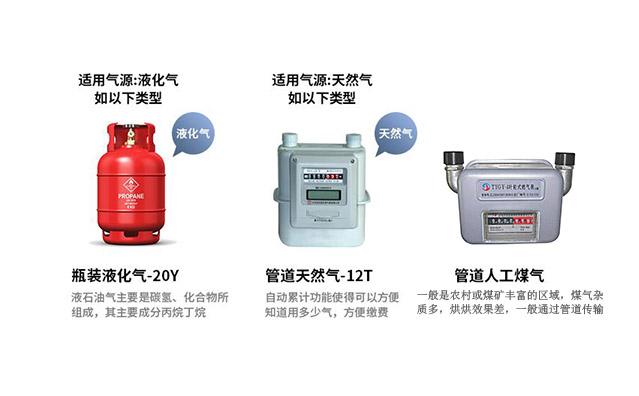 天然气炉灶具燃气类别