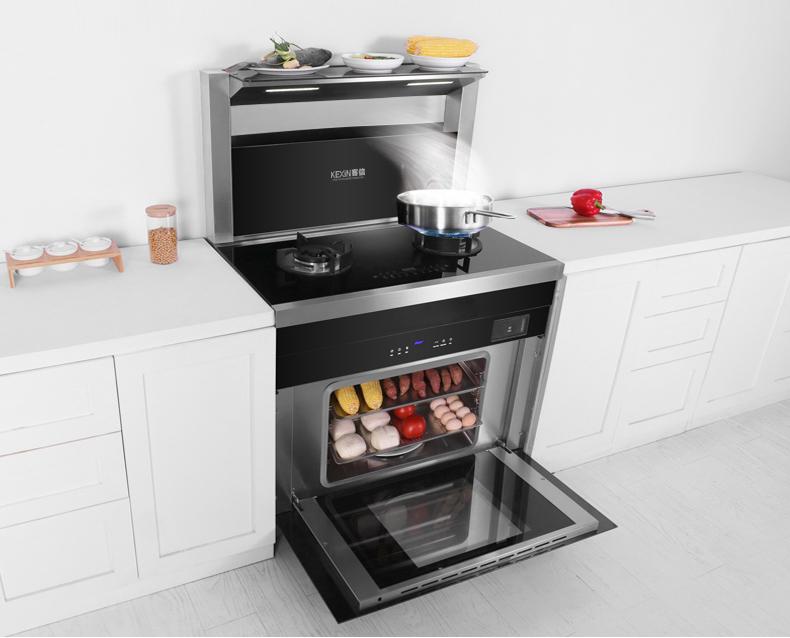 客信集成式厨房煤气炉灶,集成式厨房燃气灶厂家批发