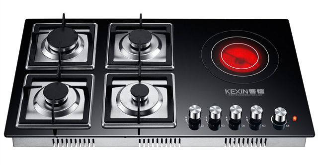 燃气电磁组合式厨房燃气灶具,煤气炉灶批发厂家