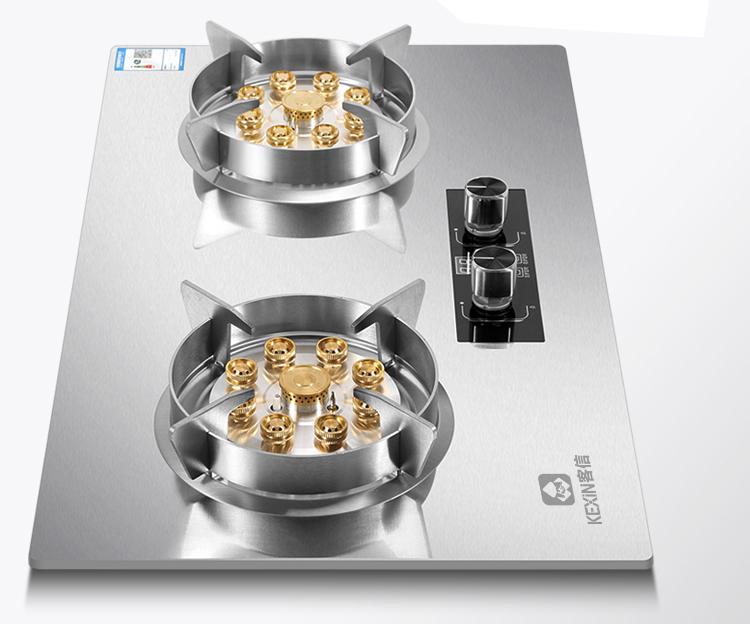 加厚钢化玻璃与不锈钢结合燃气灶推荐,煤气炉具介绍